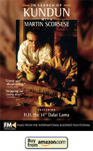 In Search of Kundun DVD with Martin Scorsese