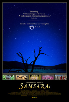 [film poster for Samsara]