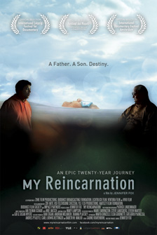 Film poster for My Reincarnation by Jennifer Fox